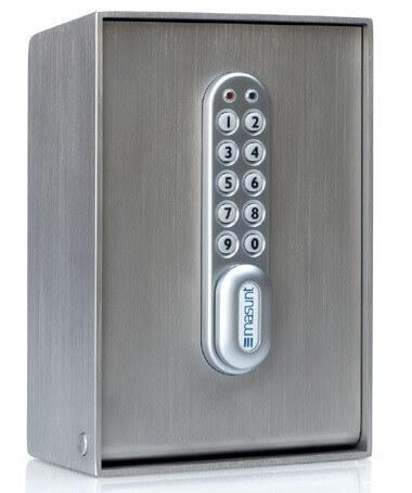 masunt Schlüsselsafe für sichere Übergabe von Firmenschlüssel an Mitarbeiter